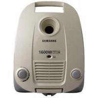 Цены на Пылесос Samsung VCC 4141 SAMSUNG Тип пылесоса: мешковой/ Мощность всасывания: 320Вт/ Мощность потребления: 1600Вт/ Фильтр: НЕРА11/ Тип трубки: телескопическая/ Основные насадки: пол/ковер, щелевая/ Регулировка мощности: на корпусе/ Объём пылесборника: 3л/, фото
