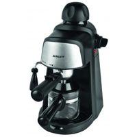 Цены на Кофеварка Scarlett SC 037 SCARLETT Тип: эспрессо / Мощность: 800 Вт / Объем резервуара для воды: 0.2 л / Используемый кофе: молотый / Материал корпуса: пластик / Цвет: черный, фото