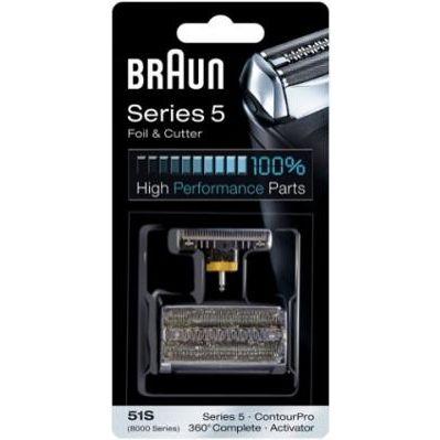 Фото Бреющий блок и сетка BRAUN 8000/51S (Series5) BRAU
