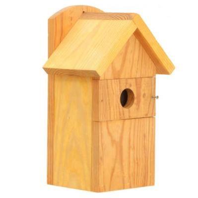 Фото Домик для птиц Комбинированый 20х16х32.5 см Тип до