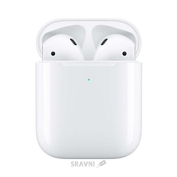 Наушник Apple AirPods 2 with Wireless Charging Case MRXJ2