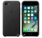 Фото Apple iPhone 7 Leather Case - Black (MMY52)