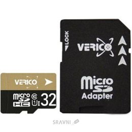 Verico 32 GB microSDHC UHS-I Class 10 + SD adapter